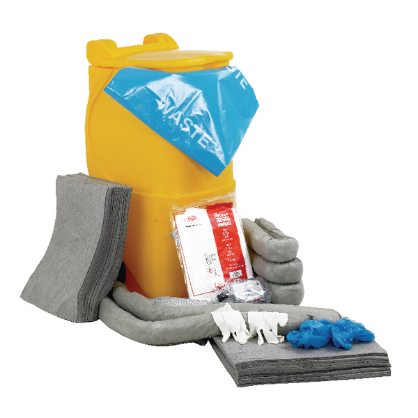 Universal Spill Response Kit With 2 Wheeled Bin 314639