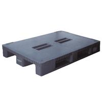 Plastic Pallet 1200x800mm Blue (Pack of 1) 315377