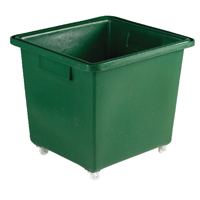 Green Tapered Sides Food Grade 182 Litre Truck Container (Pack of 1) 316357
