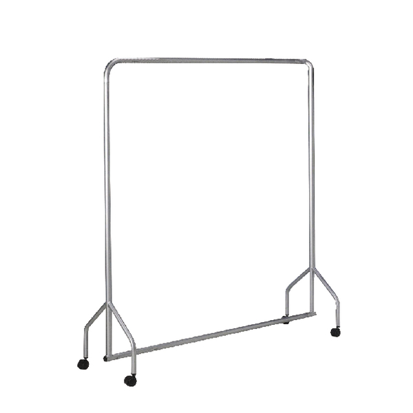 Image for Garment Hanging Rail Silver 316937