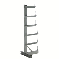 Image for Bar Storage Rack Single Side 350kg/Arm Grey 318944