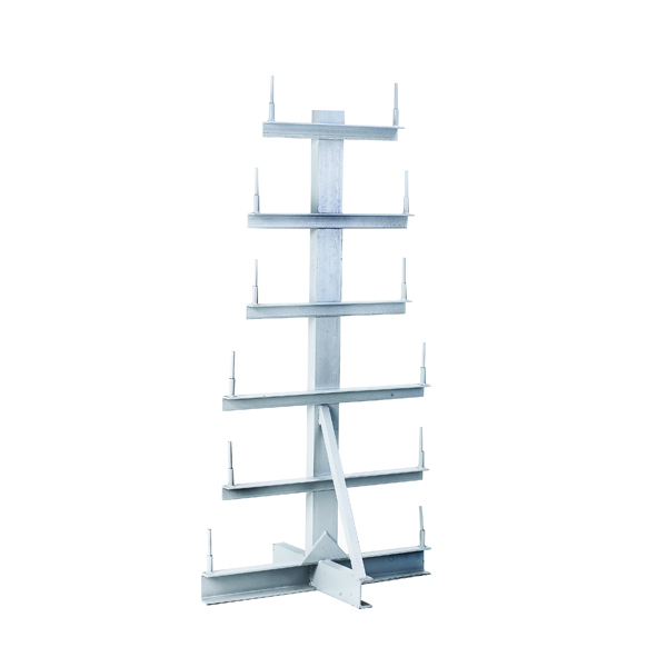 Image for Bar Storage Rack Double Side 350kg/Arm Grey 318945