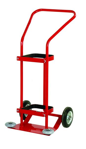 VFM Red 3400 Litre Oxygen Cylinder Trolley (Pack of 1) 320667