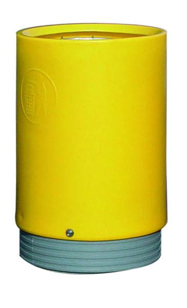 Yellow Outdoor Open Top Bin 75 Litre 321779