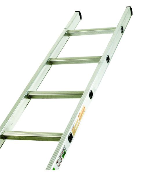 Aluminium Single Section Ladder 2410mm 8 Rung (Pack of 1) 323138