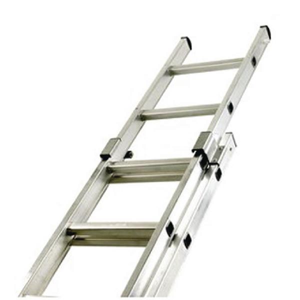 Aluminium Double Section Push Up 24 Rung Ladder 323143