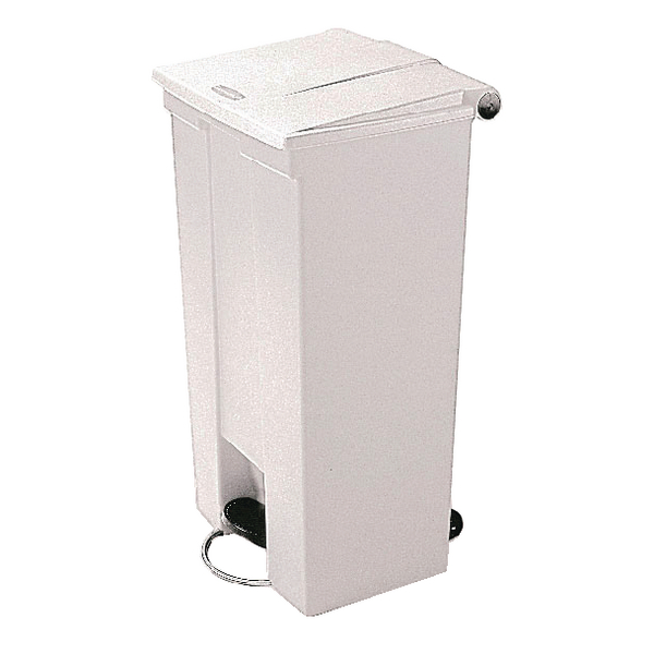Step-On Container 68L White 324296