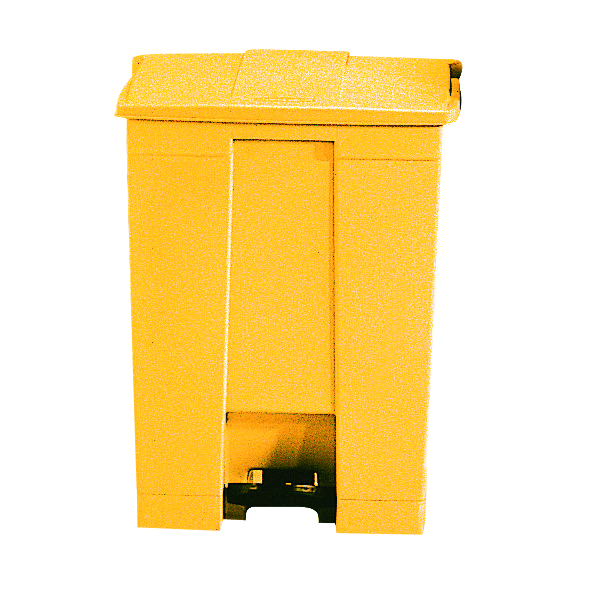 Image for 30.5L Step-On Container Yellow 324301