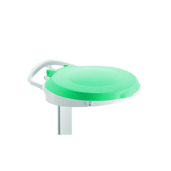 Green Plastic Round Lid For Smile Sackholder 348035
