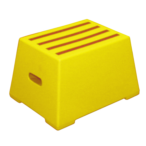 Plastic Safety Step 1 Tread Yellow 325094