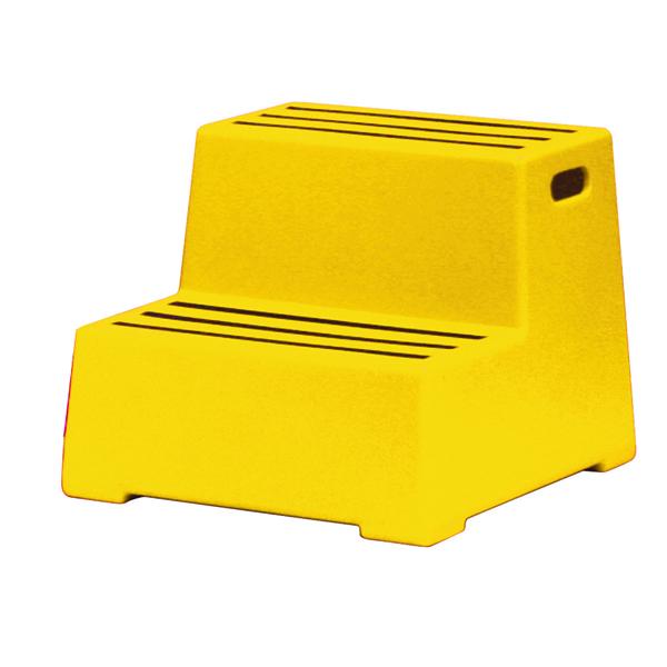 Plastic Safety Step 2 Tread Yellow 325097