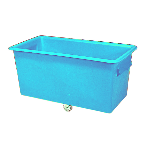 VFM Light Blue Tapered Sides 340 Litre Truck Container 316354