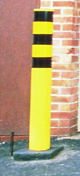 FD Yellow Steel Safety Bollard 330133