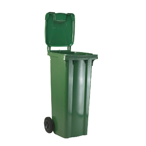 Refuse Container 120 Litre 2 Wheel Green 331109