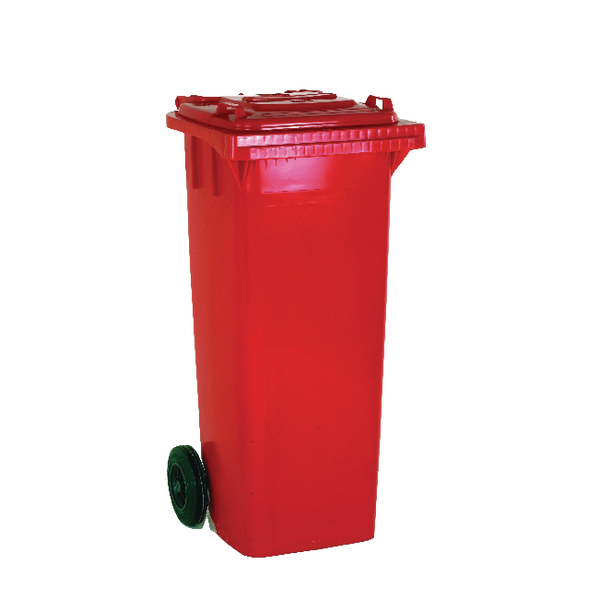Refuse Container 120 Litre 2 Wheel Red 331115
