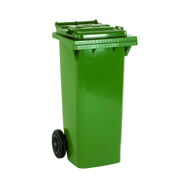 Refuse Container 140 Litre 2 Wheel Green 331150