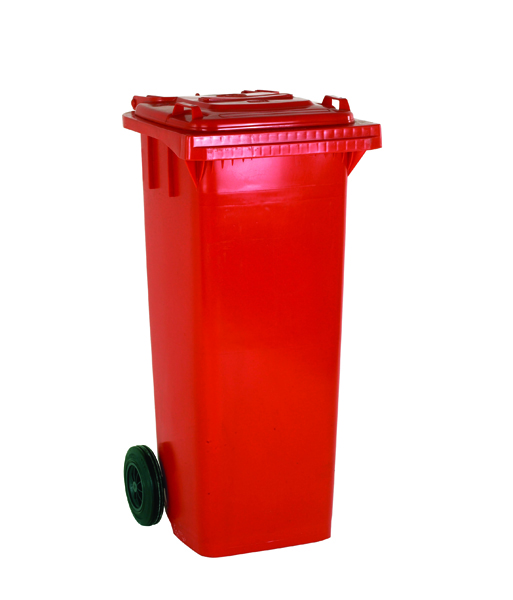Refuse Container 140 Litre 2 Wheel Red 331156