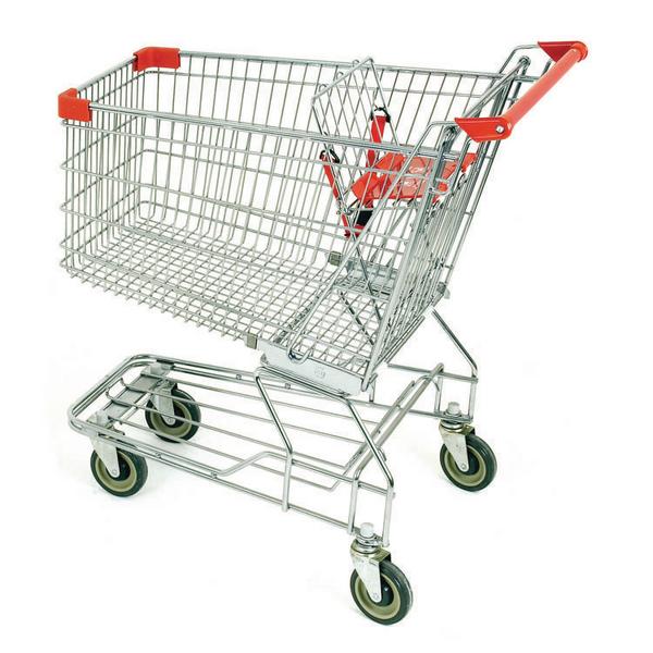 Supermarket Trolley Nesting 150 Litres 331905