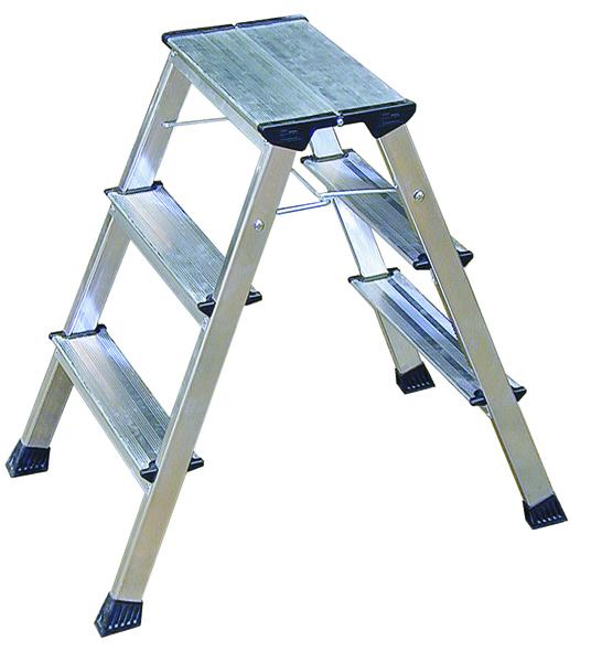 Aluminium 3 Tread Folding Kick Step