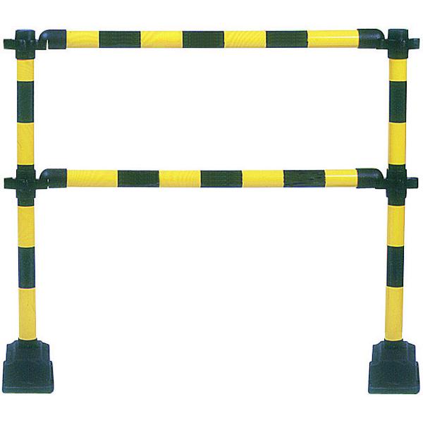 Yellow/Black Express Barrier 2 Rails 349739