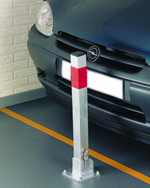 FD Post Safe Parking Silver 351066
