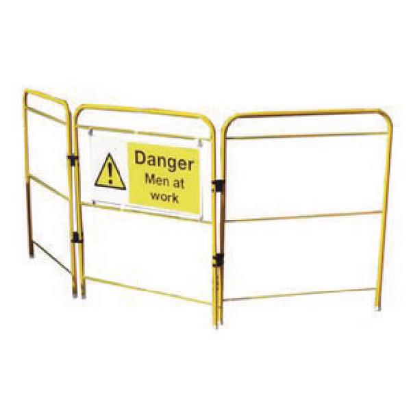 VFM Yellow Lightweight Space Saving Barrier 356971