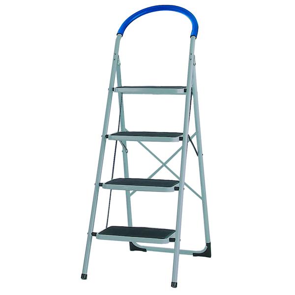 4 Tread White Step Ladder 359295