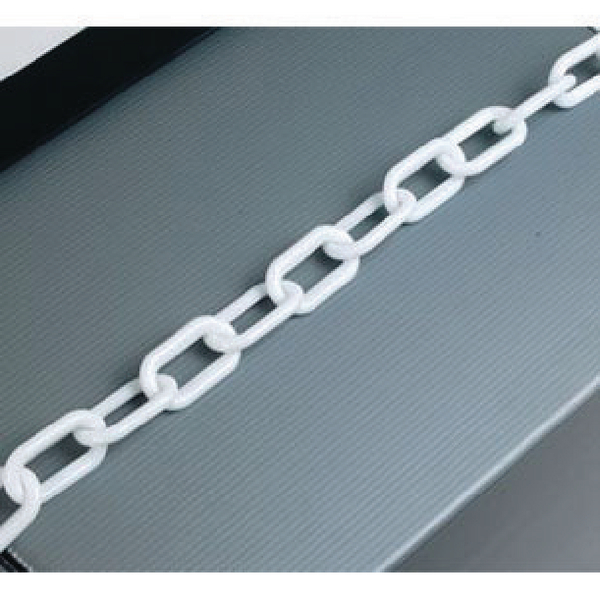 Plastic 8mm White Chain 360077