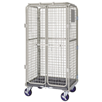 VFM Grey Nesting Security Roll Cafe Container (Pack of 1) 360104