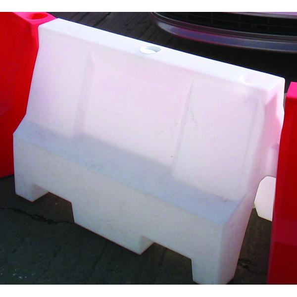 White 600X500mm Traffic Separators 365242