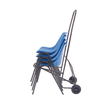 Black Chair Trolley (Pack of 1) 366040