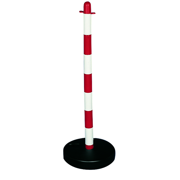 Bi-Pose Red/White Post And Base 372388