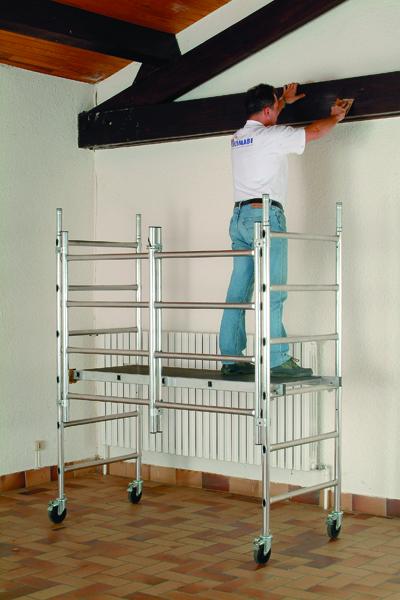 Speedy Work Platform Aluminium 373689