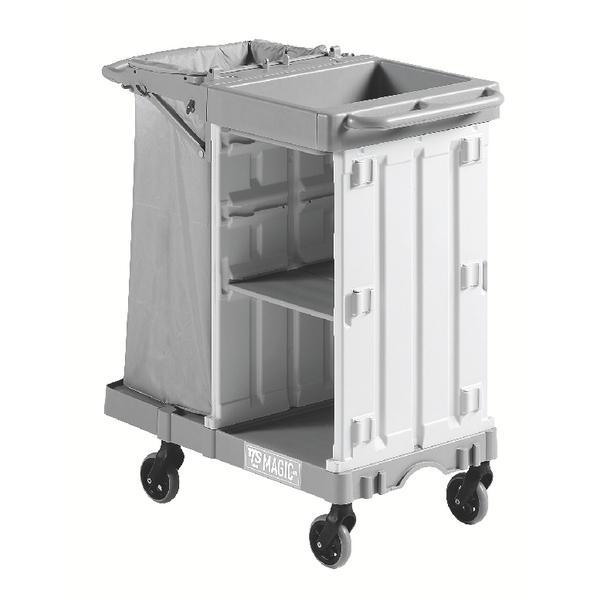 Housekeeping Trolley Small Base Grey 374980