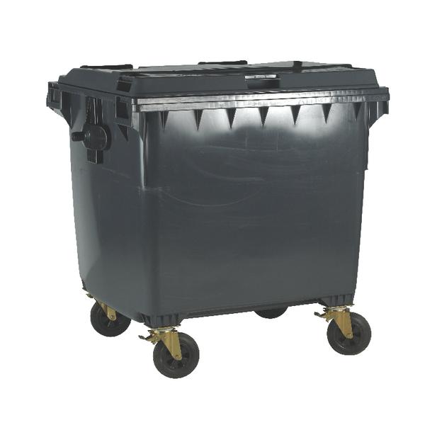 Grey Wheeled Bin 770 Litre 377388
