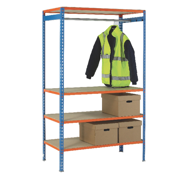 Image for VFM 900mm Extra Pole For Garment Hanging Rail 379613