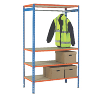 Image for VFM 1200mm Extra Pole for Garment Hanging Rail 379615