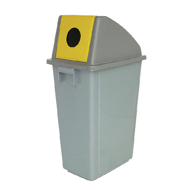 Waste Paper Gathering Bin C 58 Litre (Pack of 1) 383015