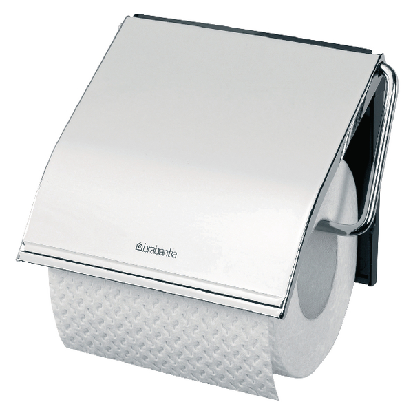 Classic Toilet Roll Holder Steel 383199