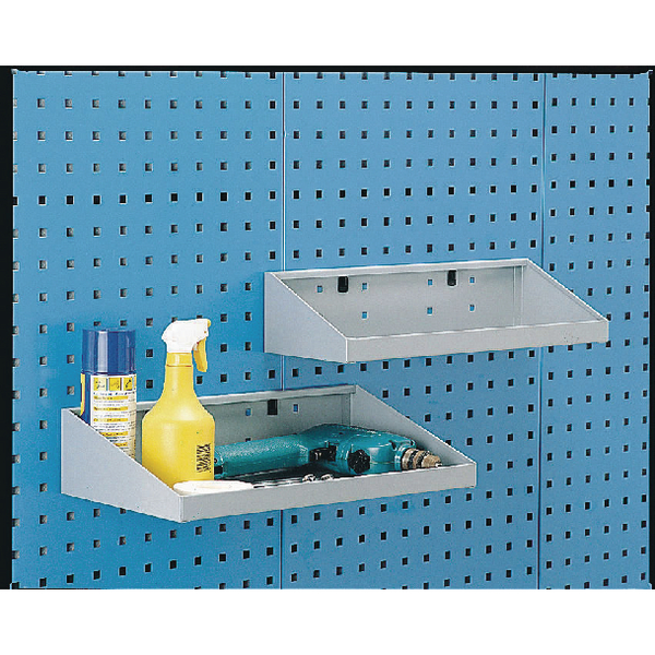 Image for Perfo System Grey 450X250mm Tool Shelf 306992