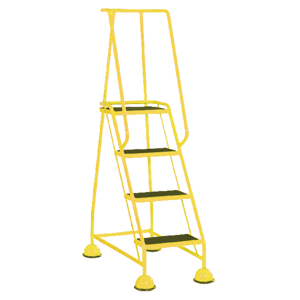 Yellow 4 Tread Step 385141