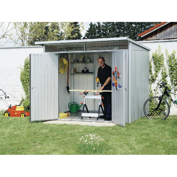 Image for VFM Metallic Silver Garden Shed Floor Frame 332971