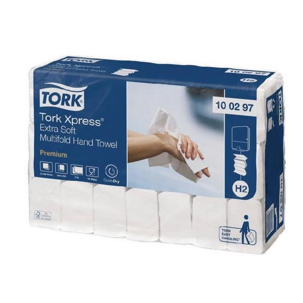 Tork Xpress Sfthnd Twl 2Ply 100297 Pk21