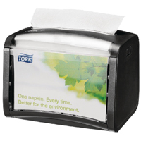 Tork Xpressnap Tabletop Napkin Dispenser Black (Pack of 1) 272611