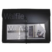 Cathedral Black 7-Pocket Wall File EXPWALBlack
