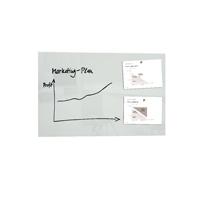 Sigel Artverum 1000x650mm White Magnetic Glass Board GL141