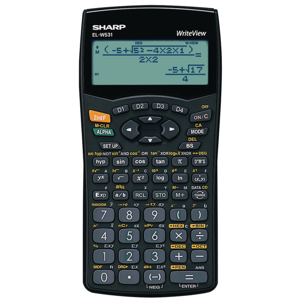 Sharp ELW531B Scientific Calculator