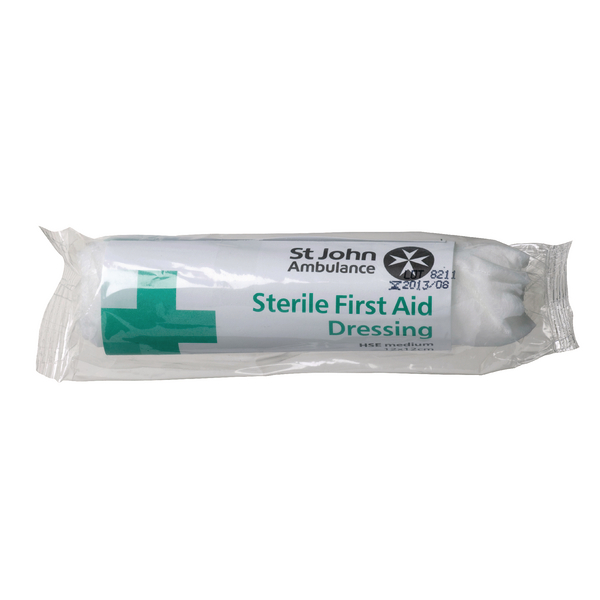 St John Ambulance Medium Dressing 120x120mm F90106