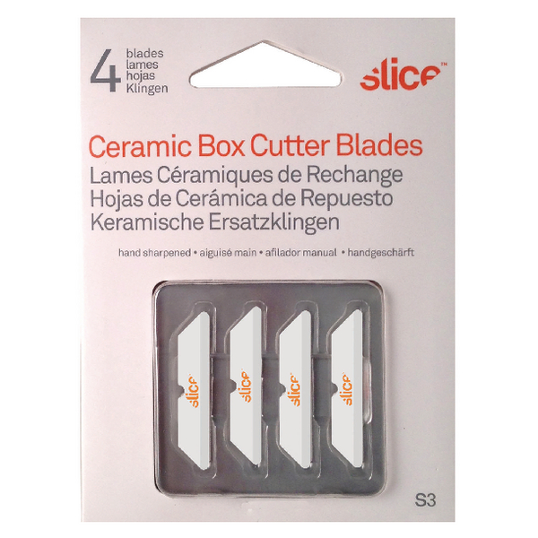 Slice Blades For Box Cutters 34mm (Pack of 4) 10404