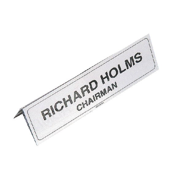 Name Holder 210x65mm Transparent IBNP2